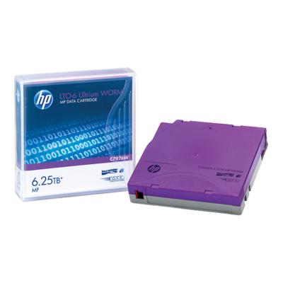 HP Adatkazetta Ultrium LTO-6 6,25TB WORM
