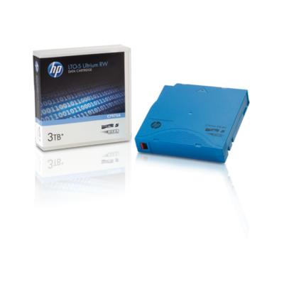 HP Adatkazetta Ultrium LTO5 3,0 TB RW Non-Custom Label Data Cartridge 20 Pack