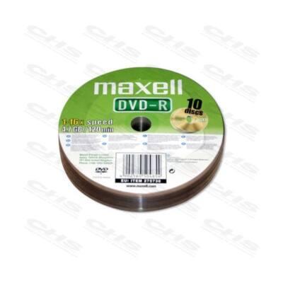 MAXELL DVD lemez -R 4.7GB 25db/Henger 16x Shrink