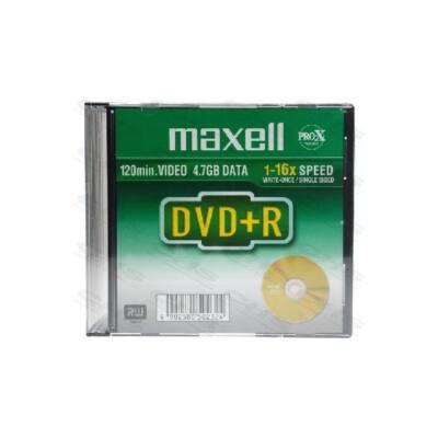 MAXELL DVD lemez +R 4.7GB 16x Slim tok