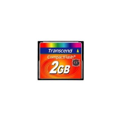 Transcend Memóriakártya CF 2GB 133X