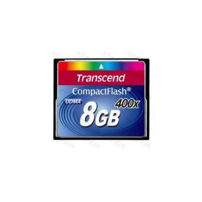Transcend Memóriakártya CF 8GB 400X
