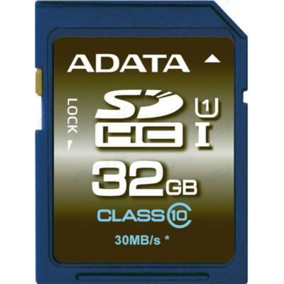 ADATA Memóriakártya SDHC 32GB UHS-I CL10 (100/20)