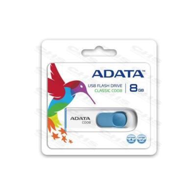 ADATA Pendrive 8GB, C008, Fehér
