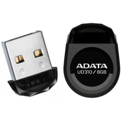 ADATA Pendrive 8GB, UD310, Fekete
