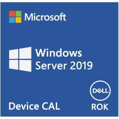DELL EMC szerver CAL - MS Windows Server 2019, 10 Device CAL, ROK, English.