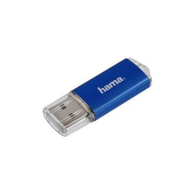 """HAMA Pendrive USB 2.0 """"LAETA"""" 8GB 10MB/s, KÉK"""