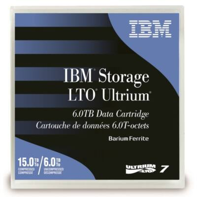 IBM Adatkazetta Ultrium 6TB/15TB LTO7