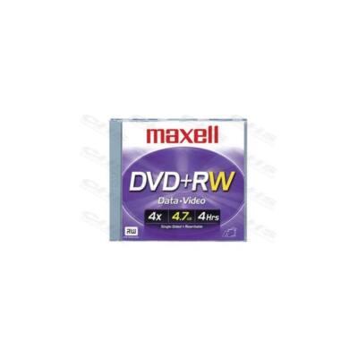 MAXELL DVD lemez +RW 4.7GB 4x Normál tok Újraírható