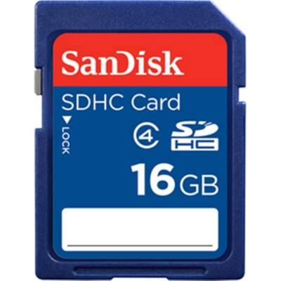 SANDISK memóriakártya SDHC 16GB, CLASS 4