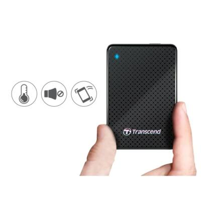 "Transcend 2.5"" SSD USB 3.0 1TB Solid State Disk ESD400 Külső"