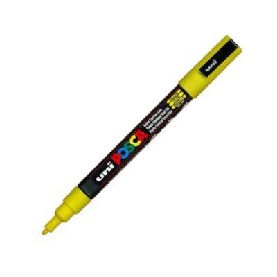 UNI POSCA Marker Pen PC-3M Fine - Yellow